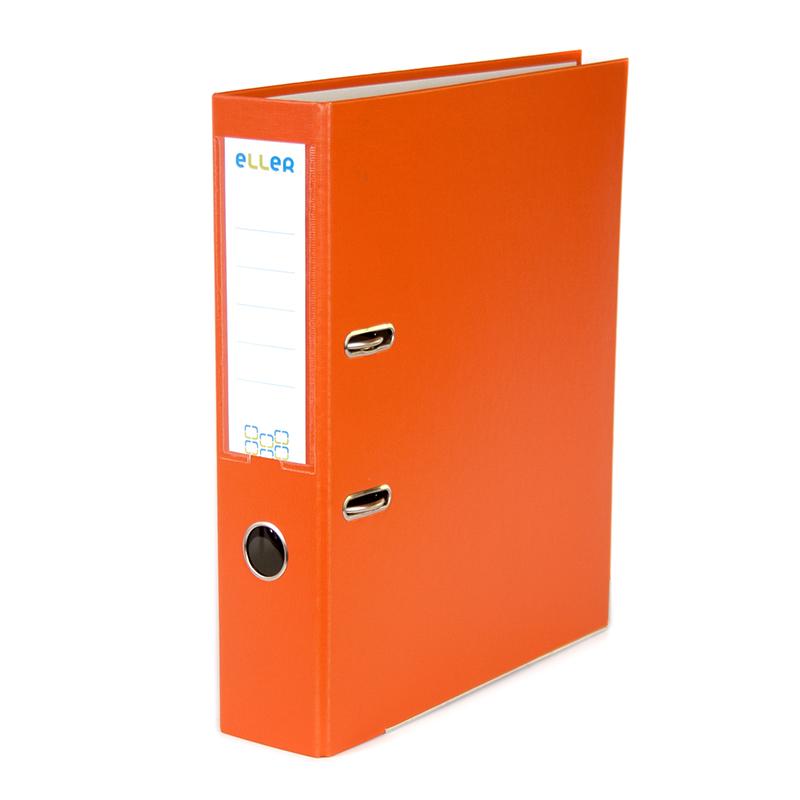 Mape-reģistrs ELLER Eko A4 formāts, 75 mm, oranža,..