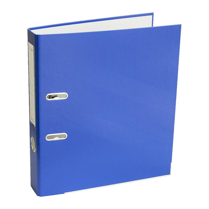 Mape-reģistrs ELLER Eko A4 formāts, 50mm, zils, apakšējā mala ar metālu