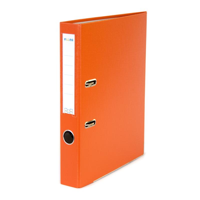 Mape-reģistrs ELLER Eko A4 formāts, 50mm, oranža, ..