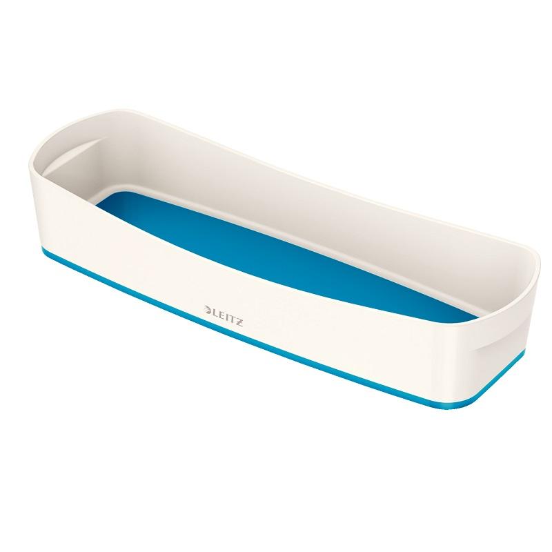 Galda organizators Leitz MyBox garens, balta-zila krāsa