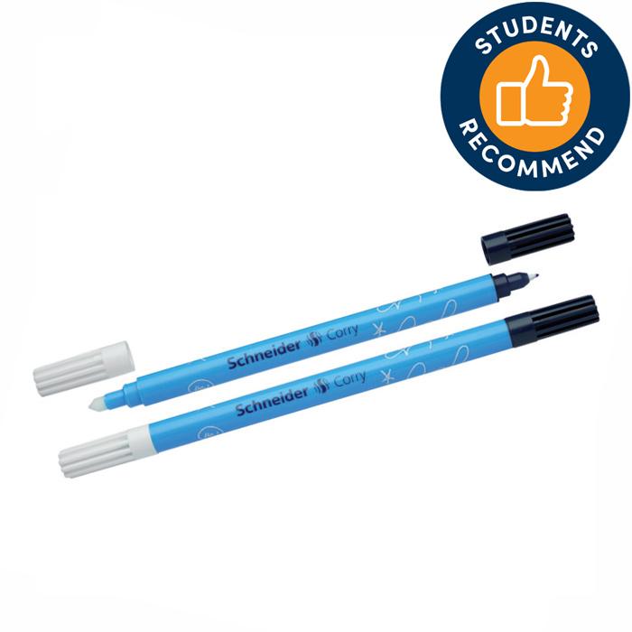 Pildspalva rolleris-korektors SCHNEIDER CORRY, zila tinte