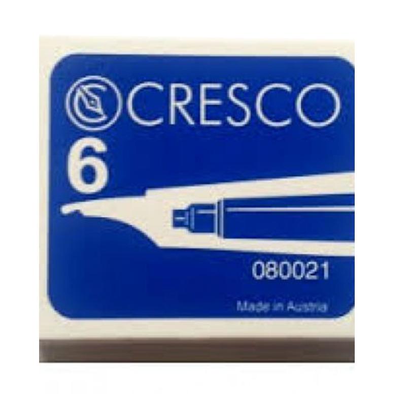 Tintes kapsulas, īsas, zila tinte, 6 gab/kastītē