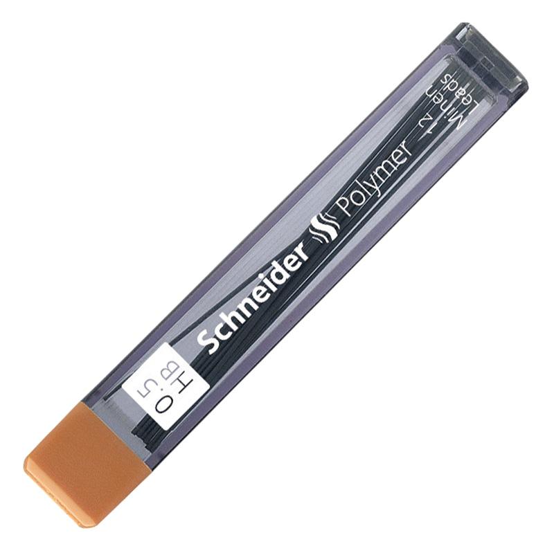Serdeņi mehāniskajam zīmulim SCHNEIDER 0.5 HB 12 serdeņi/kastītē
