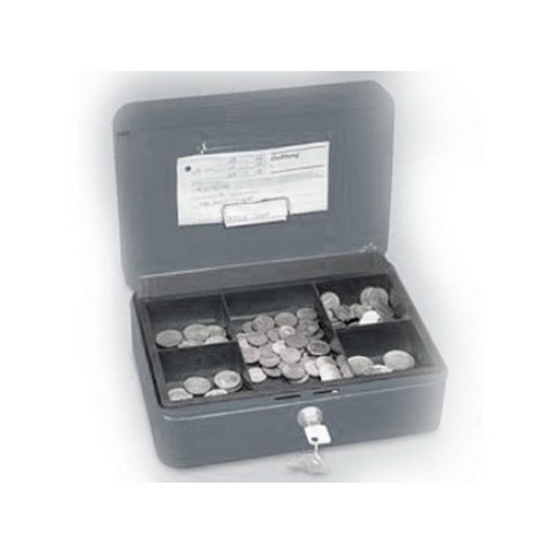 Naudas kaste WEDO ar izmēru 250x180x90mm, melna