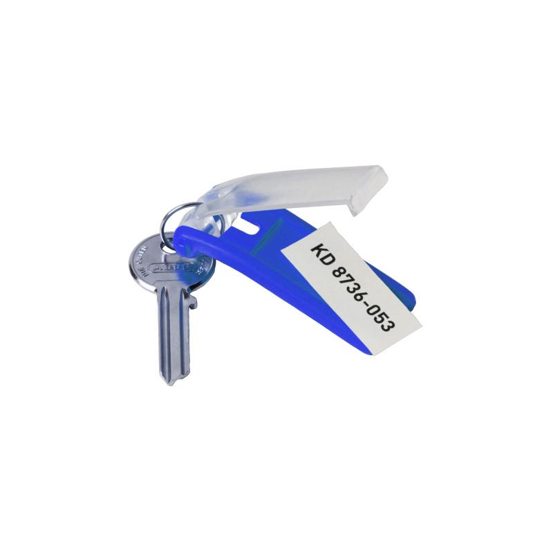 Atslēgu piekariņi DURABLE 6 gab., zila krāsa