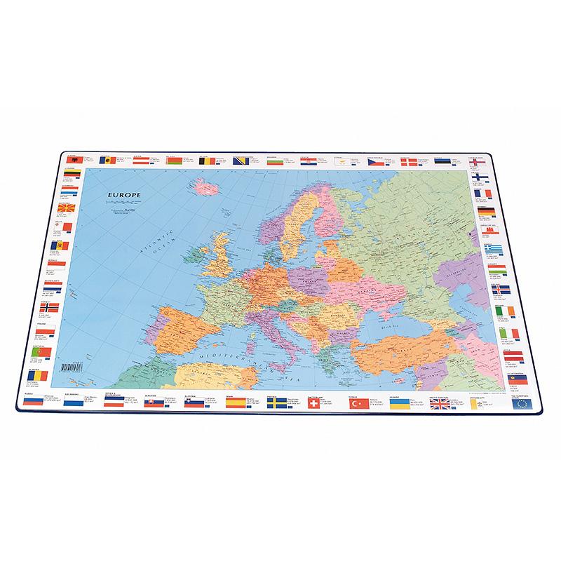 Galda segums Bantex 44x63 cm ar Eiropas karti