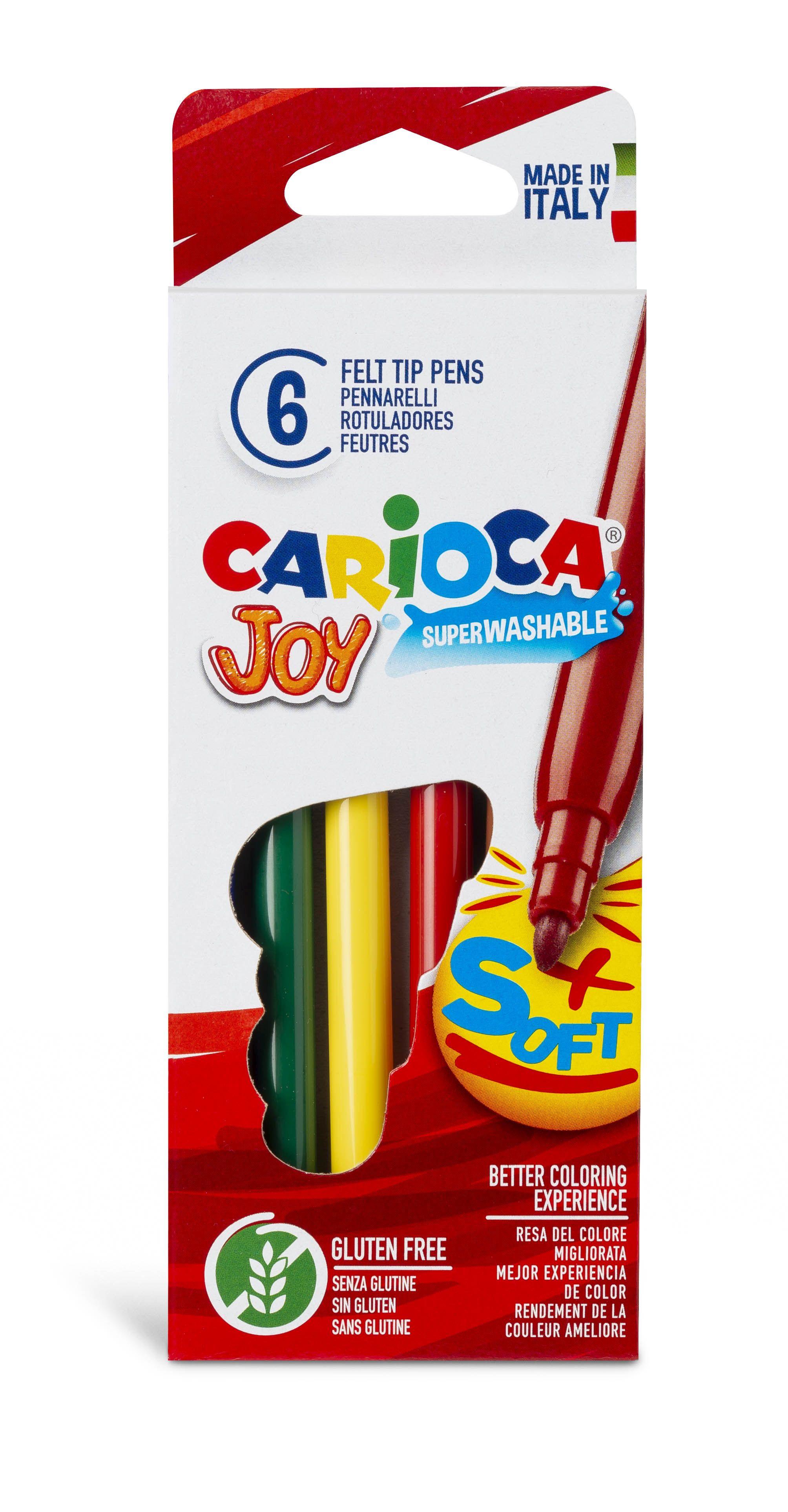 Flomasteri UNIVERSAL JOY 6 krāsas