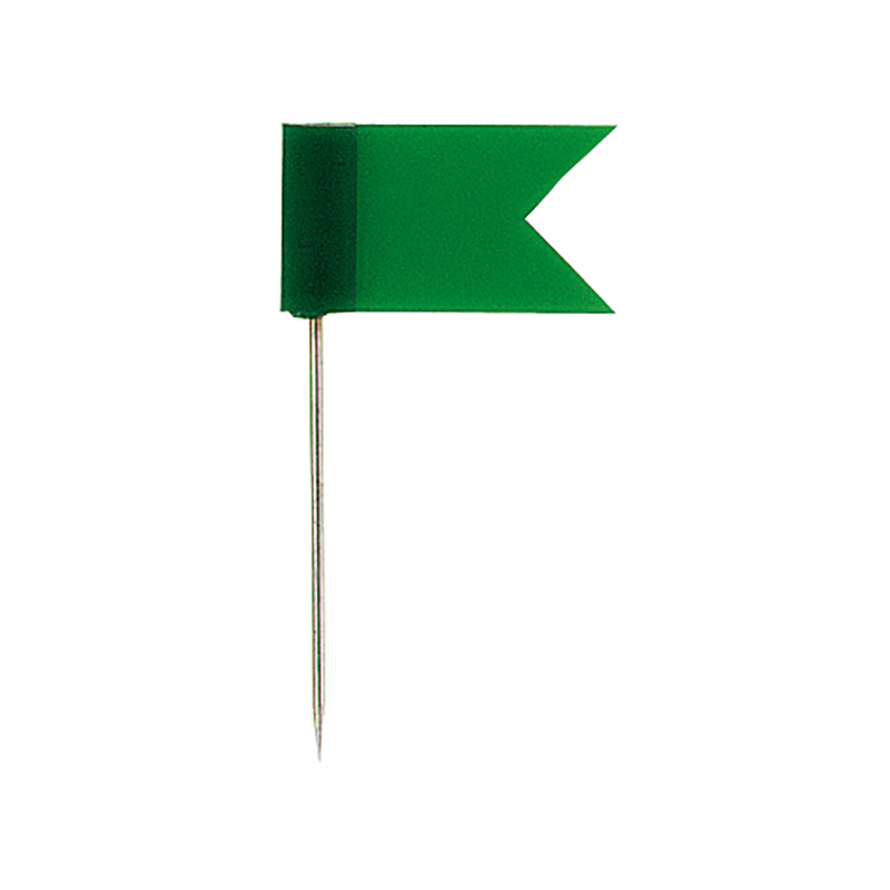 Piespraudes tāfelei ALCO karogs, 20 gab./iepak., zaļas