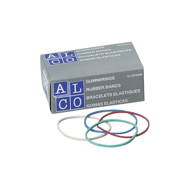 Gumijas naudas iesaiņošanai ALCO, 1.2 x 65mm, 50gr
