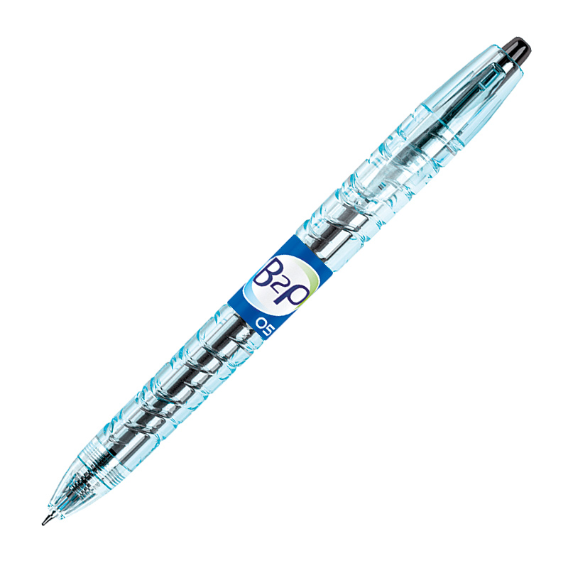 Gela pildspalva PILOT B2P 0.5mm melna tinte
