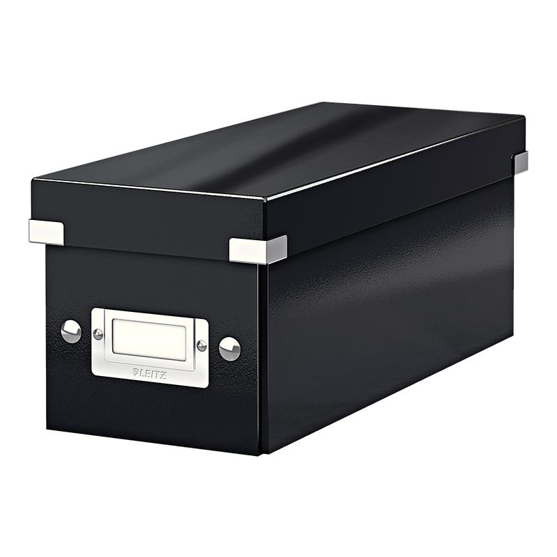 Arhīva kaste Click & Store CD LEITZ, melna