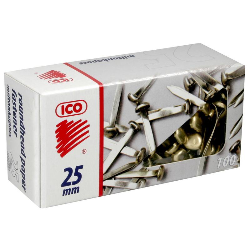 Saspraudes papīram ICO, 25mm