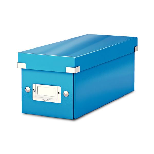 Arhīva kaste Click & Store CD LEITZ WOW, gaiši zils krāsa