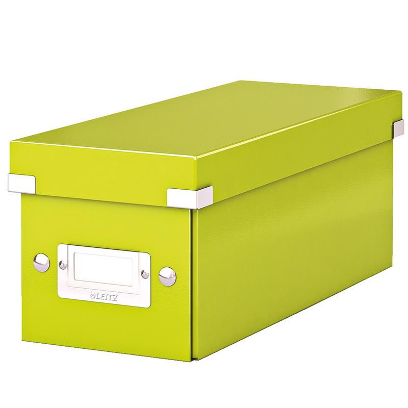 Arhīva kaste Click & Store CD LEITZ WOW, laima krāsa