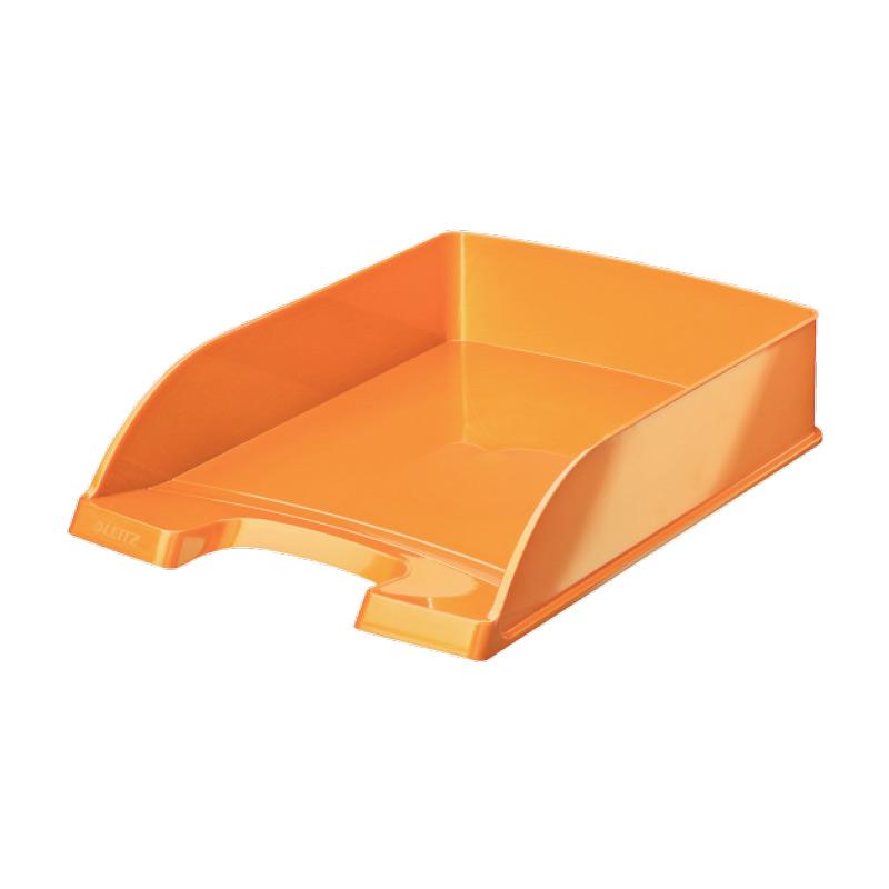 Dokumentu plaukts LEITZ WOW, oranžā krāsa