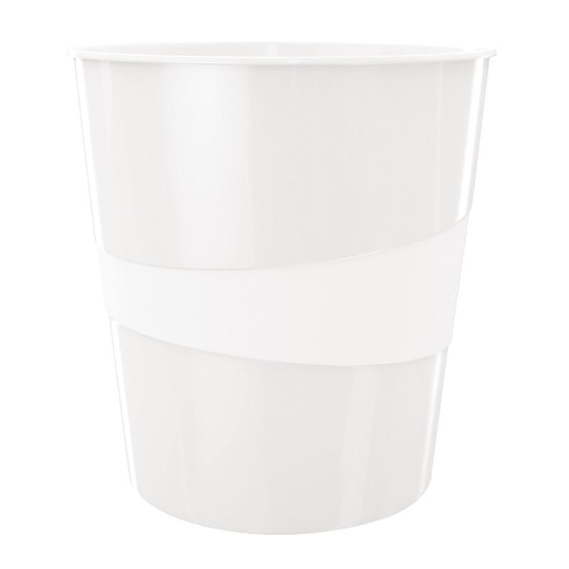 Papīrgrozs LEITZ WOW 15L, perlamutra balts