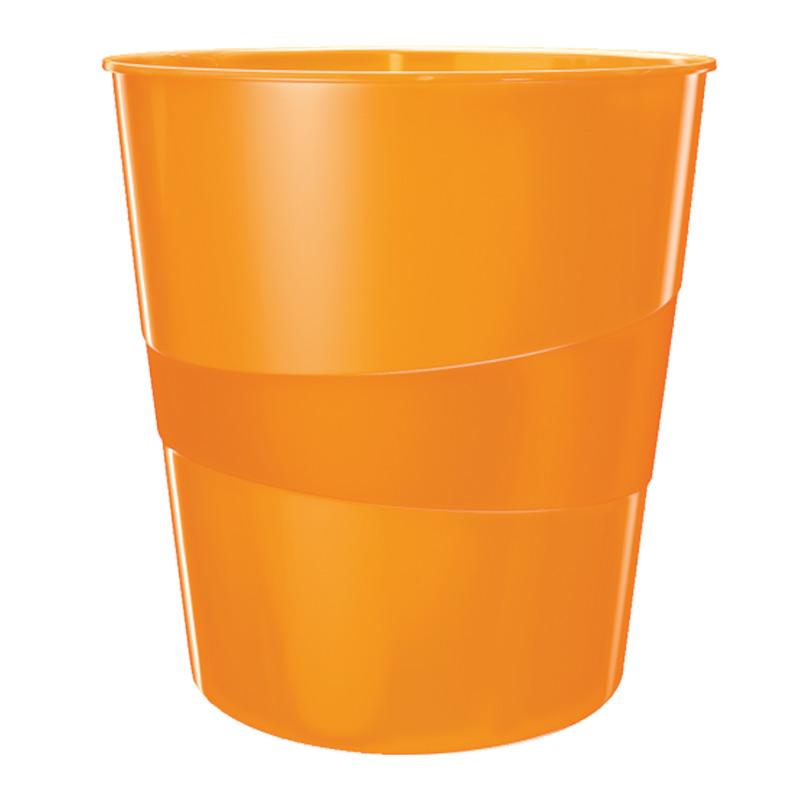 Papīrgrozs LEITZ WOW 15L, oranžā krāsa