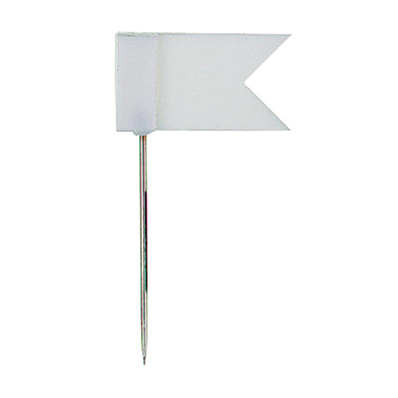 Piespraudes tāfelei ALCO karogs, 20 gab./iepak., baltas
