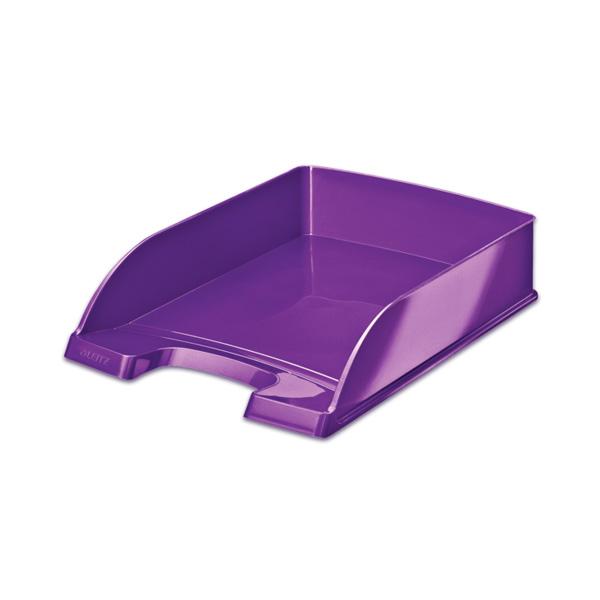 Dokumentu plaukts LEITZ WOW, violeta krāsa