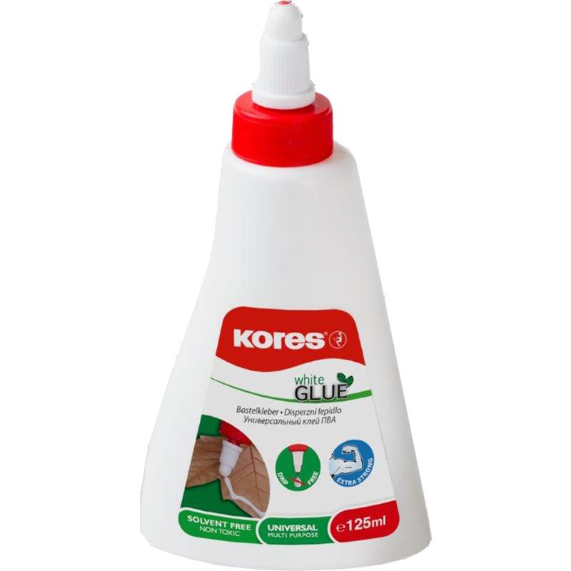 Balta PVA līme KORES, 125 ml