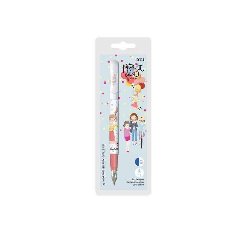 Tintes pildspalva INOXCROM PINTA TU DIA by Lucia Be asorti korpuss