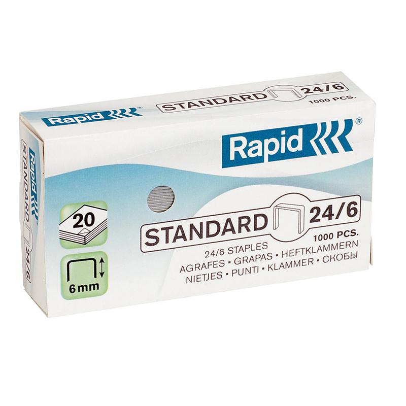 Skavas Rapid, Standard, 24/6, 1000 skavas/kastītē