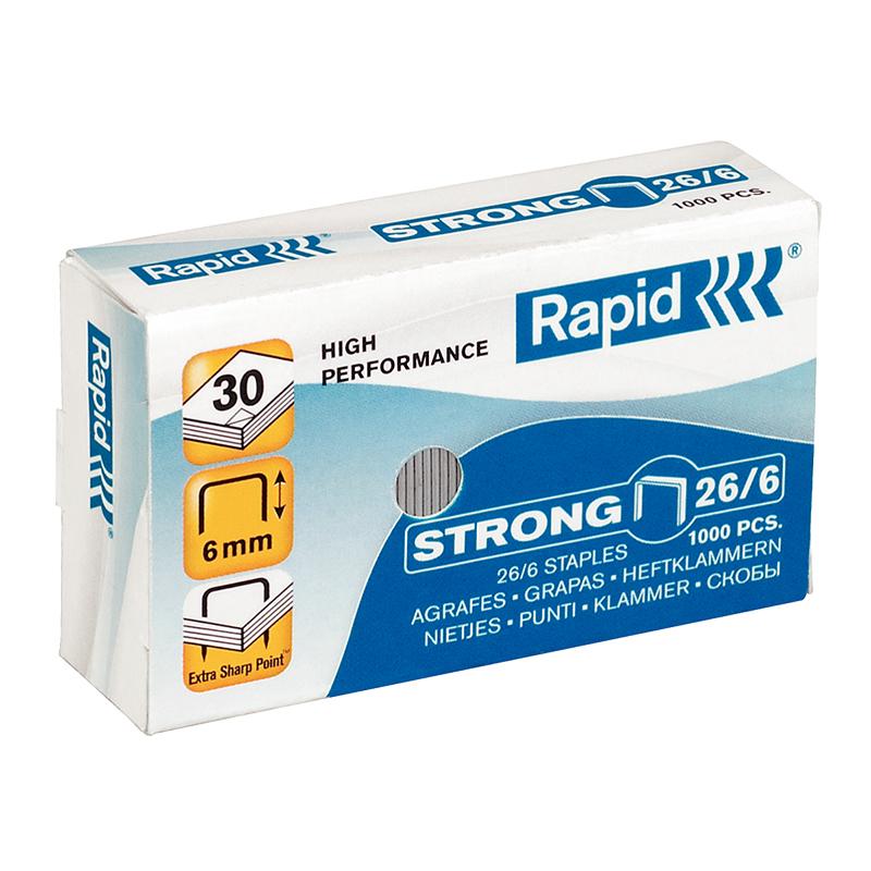 Skavas Rapid, Strong, 26/6, 1000 skavas/kastītē