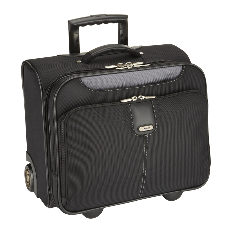 Soma portatīvajam datoram TARGUS 15–16, ROLLER, melns/pelēks