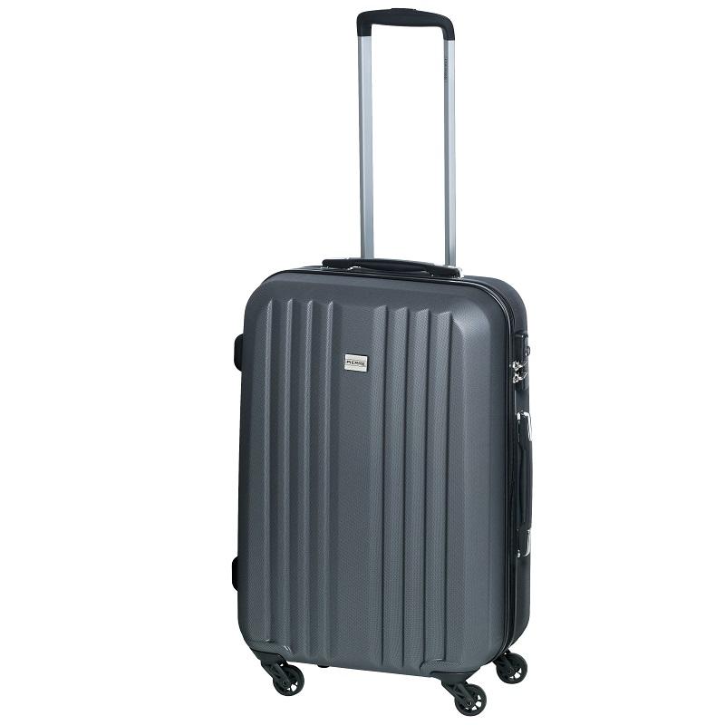 Ceļojuma soma uz riteņiem  PIERRE LIGHT SUITCASE 24, 66x44,5x25,5 cm,  pelēks