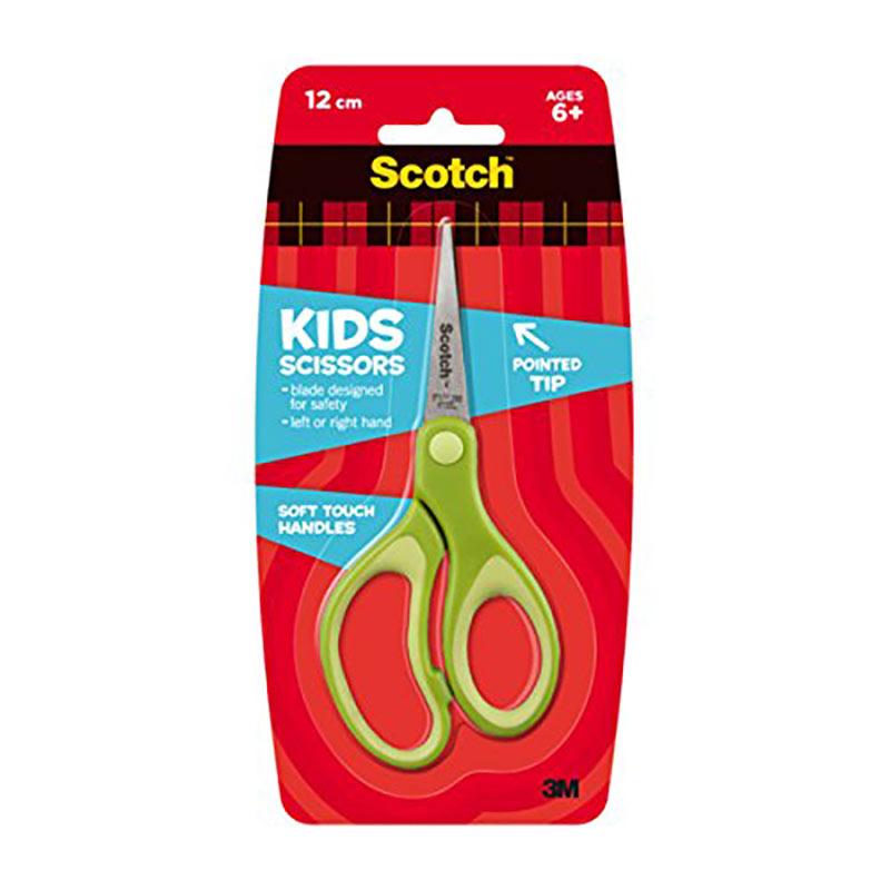 Bērnu šķēres SCOTCH Kid, 12 cm, ar smailiem galiem