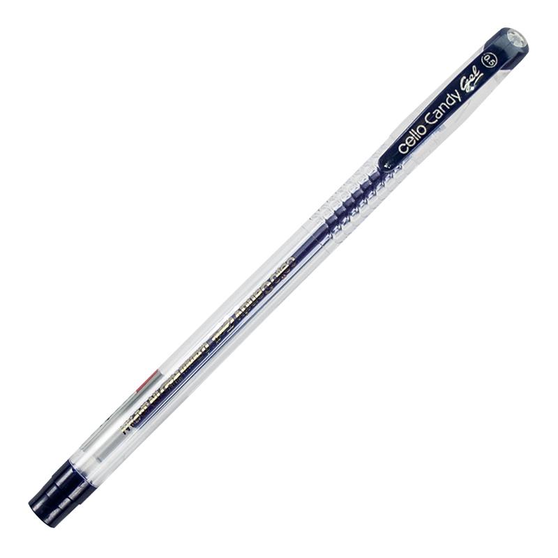 Gela pildspalva CELLO Candy 0.5 mm zila
