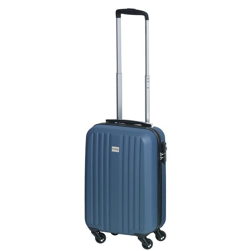 Ceļojuma soma uz riteņiem PIERRE LIGHT SUITCASE 20, polikarbonāts, 550  x 335 x 210 mm, zilā krāsā
