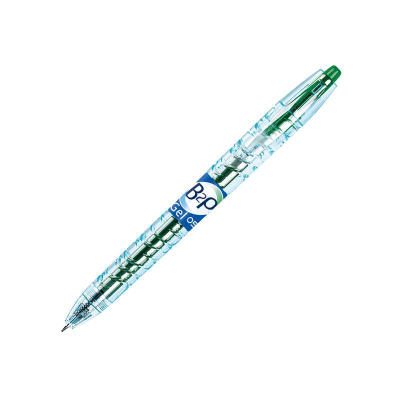 Gela pildspalva Pilot B2P 0.5mm zaļa tinte