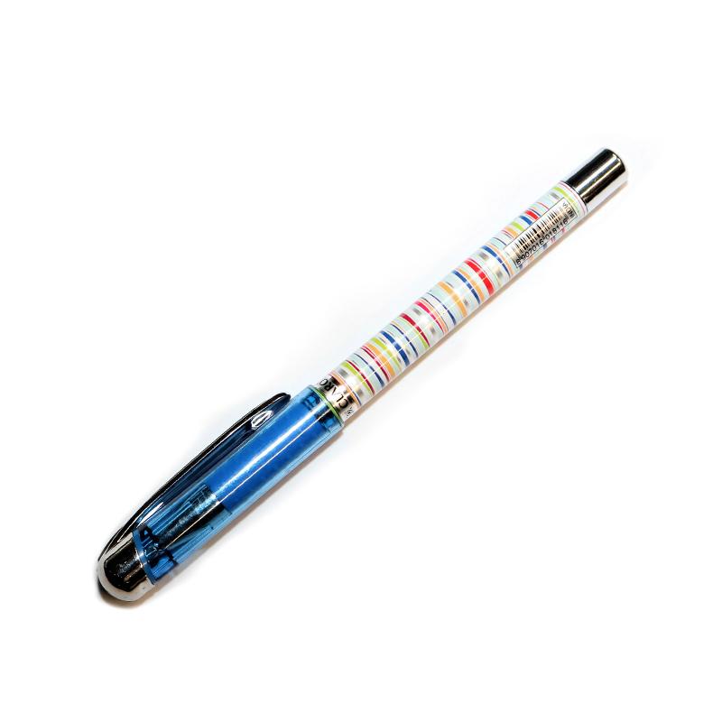 Lodīšu pildspalva CLARO JAZZ 0.7 mm krāsains korpu..