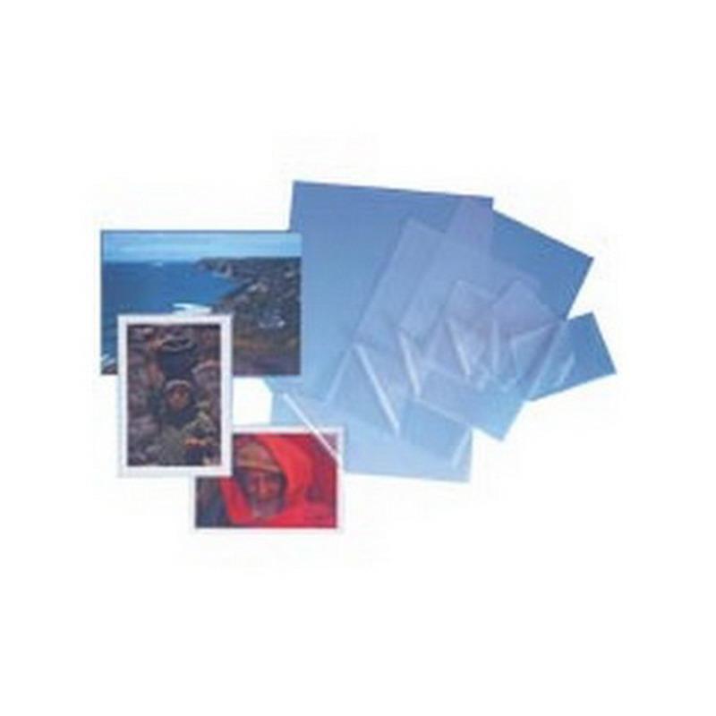 Laminēšanas kabatas PROFIOFFICE 75 x 105 mm, 100 mikr,  caurspīdīgas