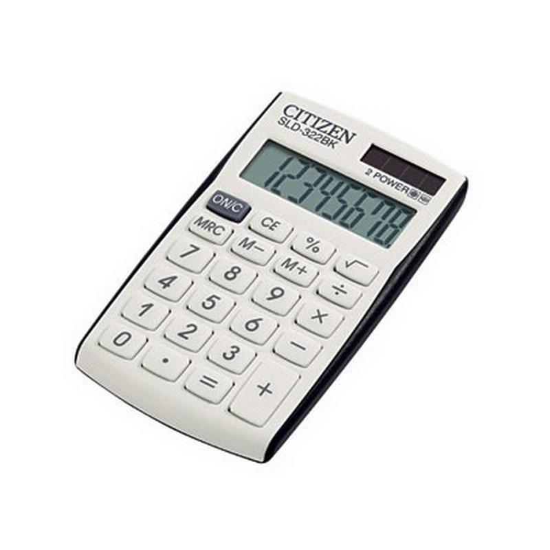 Kalkulators CITIZEN SLD-322BK