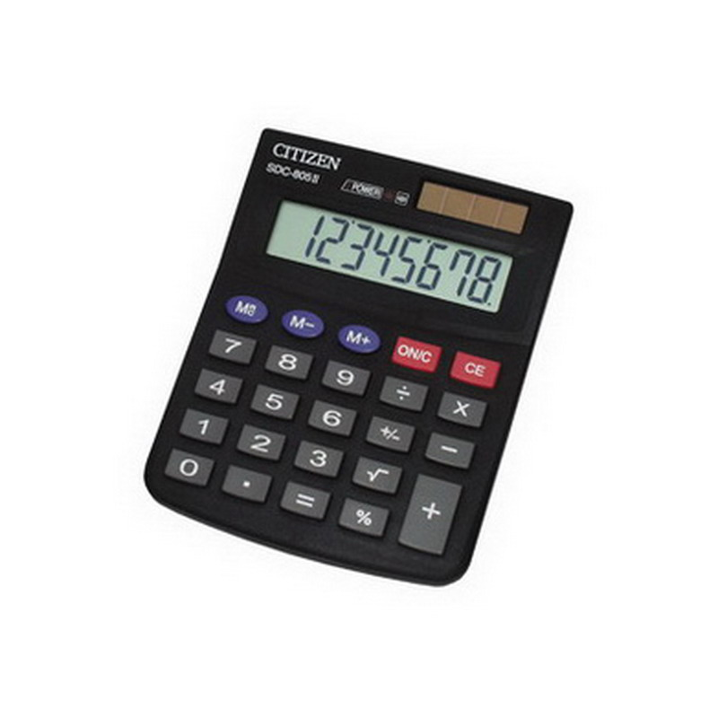 Kalkulators CITIZEN SDC-805BN