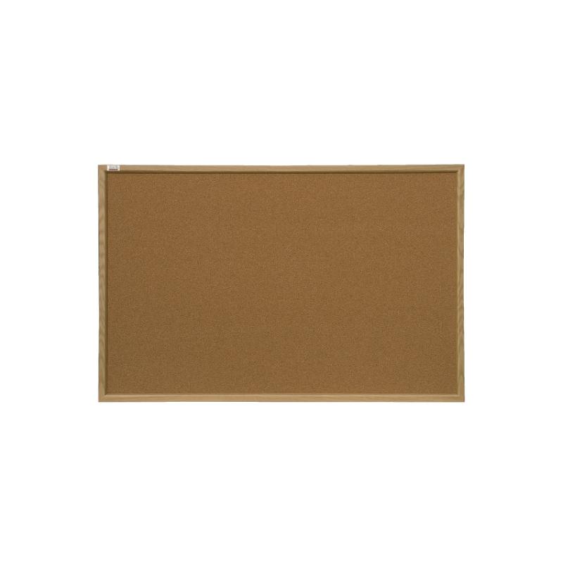 Korķa tāfele 2x3 koka rāmī, 60 x 45 cm