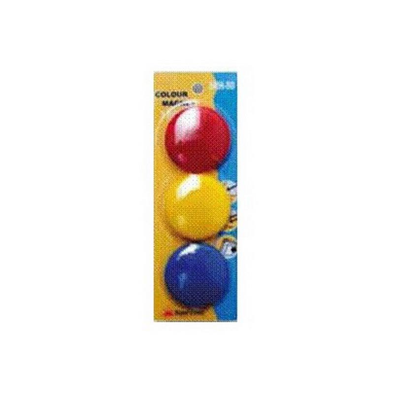 Krāsaini magnēti 50 mm
