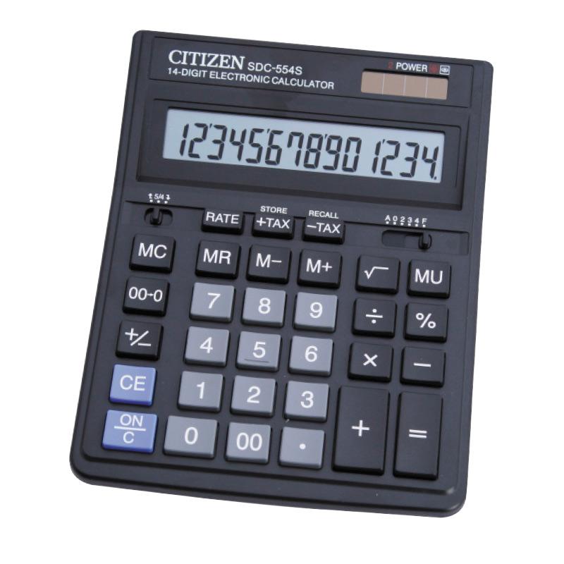 Kalkulators CITIZEN SDC-554S