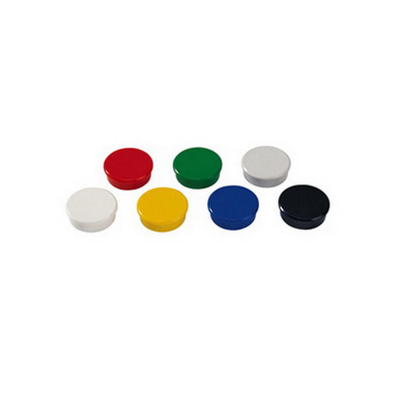 Tāfeles magnēti DAHLE 32mm, dzelteni, 10 gab./iepak.