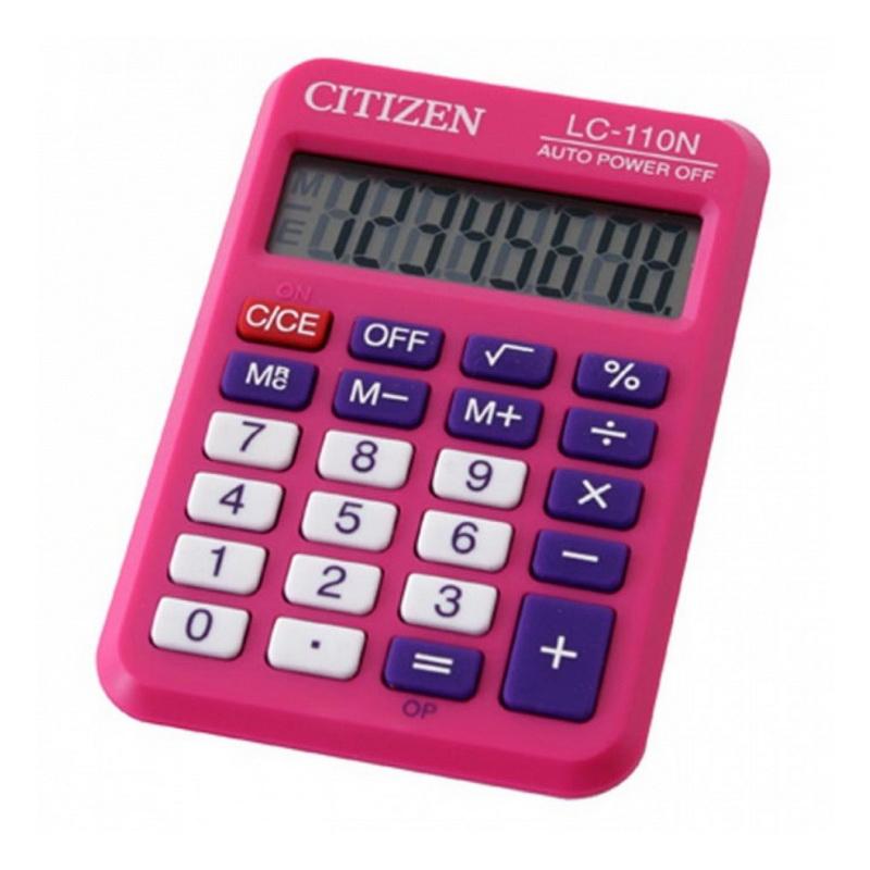 Kalkulators CITIZEN LC-110N, rozā