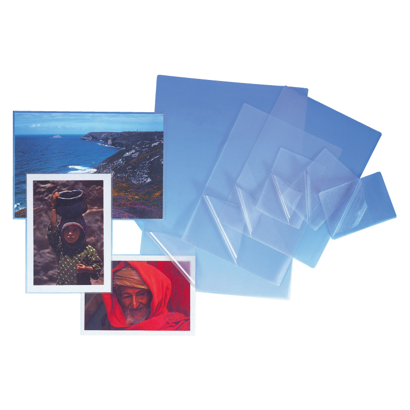 Laminēšanas kabatas PROFIOFFICE 80 x 111 mm, 80 mikr, 100 gab/iepakojumā