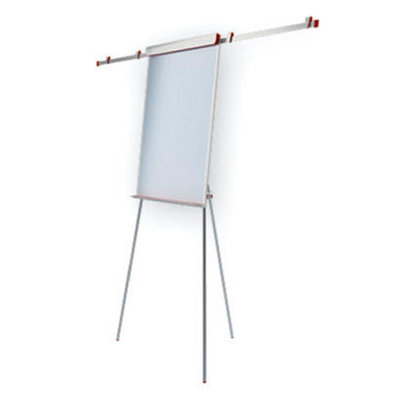 Tāfele ar statīvu 2x3 Eurochart Red, 100 x 70 cm