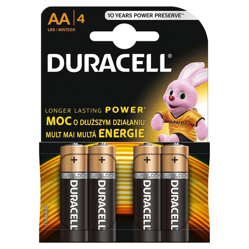 Baterija DURACELL Basic AA, LR06