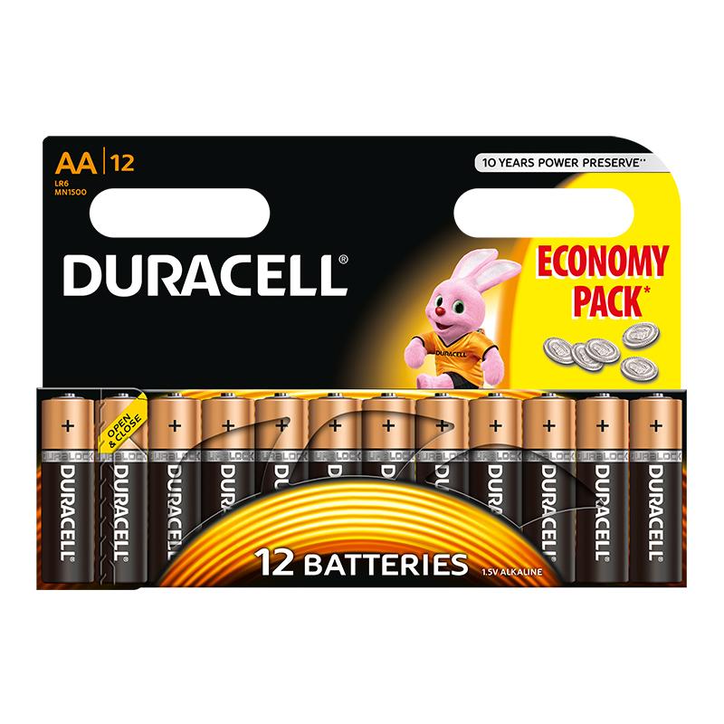 Baterija DURACELL Basic AA LR6