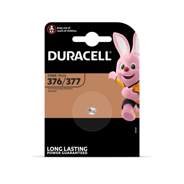 Baterija DURACELL D377-1BB/AG4