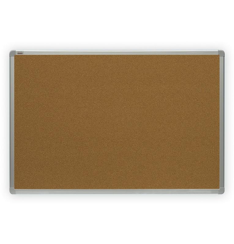 Korķa tāfele 2X3 alumīnija rāmī, 200 x 100 cm