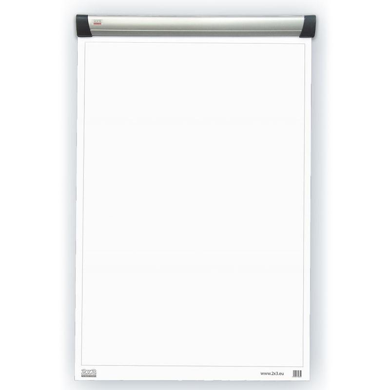 Magnētiskais flipchart papīra turētājs 2x3