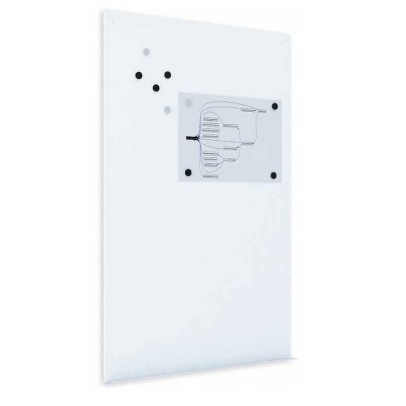 Tāfeles panelis ROCADA SkinWhiteBoard , 80 x 120 cm, lakots